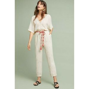 New Anthropologie Belted Jumpsuit by FeatherBone
